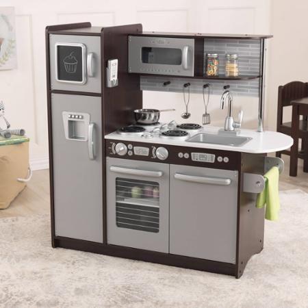 kidkraft uptown play kitchen espresso walmart com nashy rh pinterest com