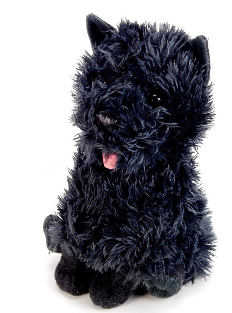 The Wizard Of Oz Toto Dorothy S Dog Plush Stuffed Black Kohls 10