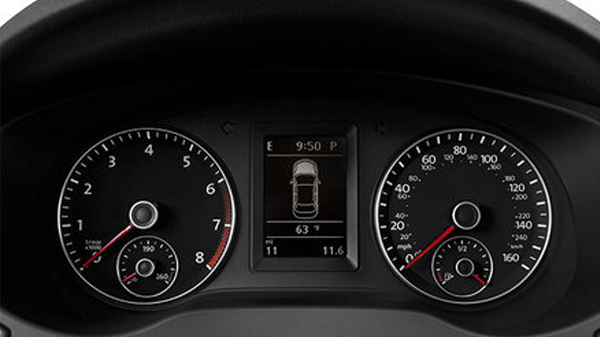 2014 Volkswagen Jetta GLI display 2014 Volkswagen Jetta