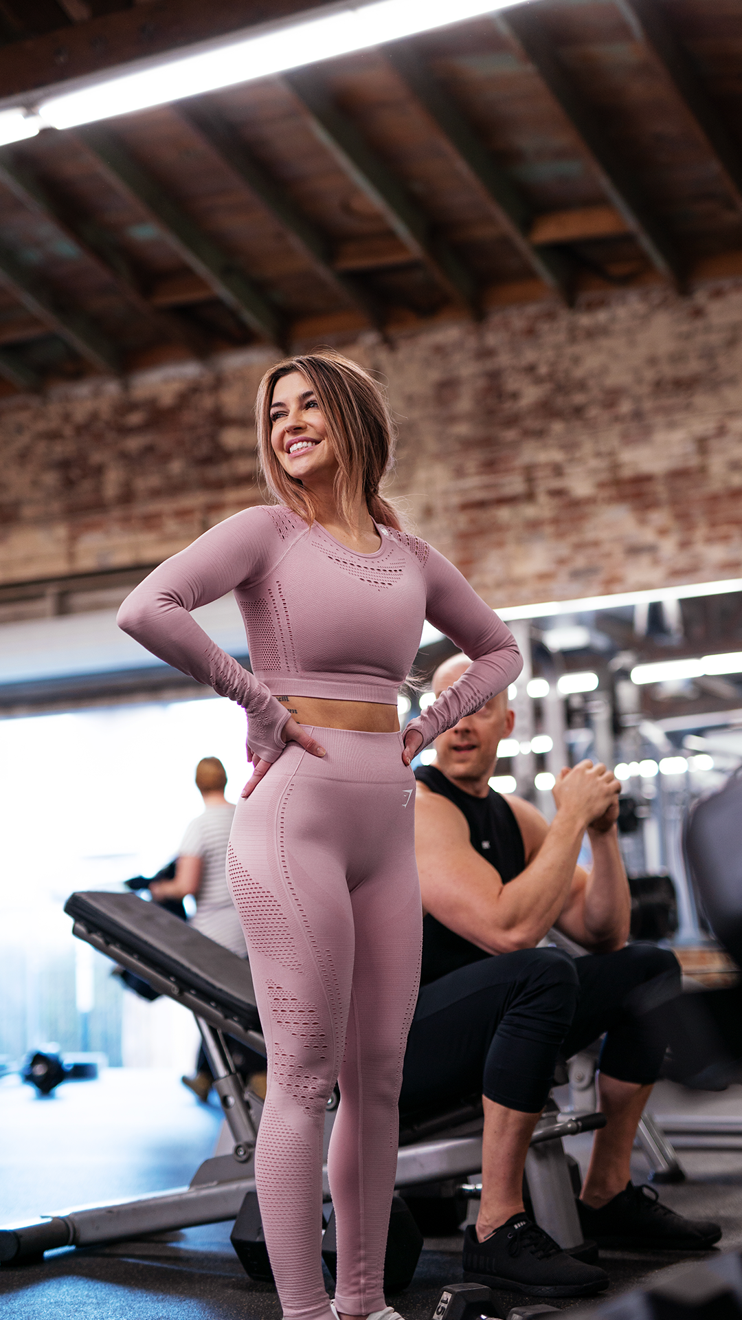 Nikki Blackketter, Gymshark Athlete, wears the Flawless Knit for her #Gymshark66 workout. What are y...