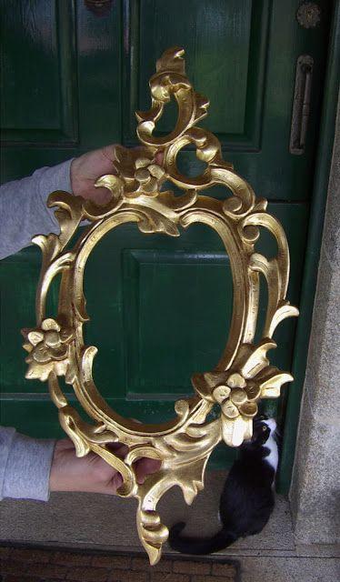 El rincón de un aprendiz: Restaurar un marco con pan de oro ...
