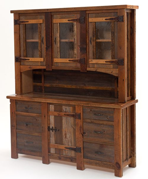 Antique Barn Wood Furniture, Barnwood Furnishings, Reclaimed Timber, Rustic  Wood Tables · Rustic Kitchen CabinetsKitchen HutchKitchen ...