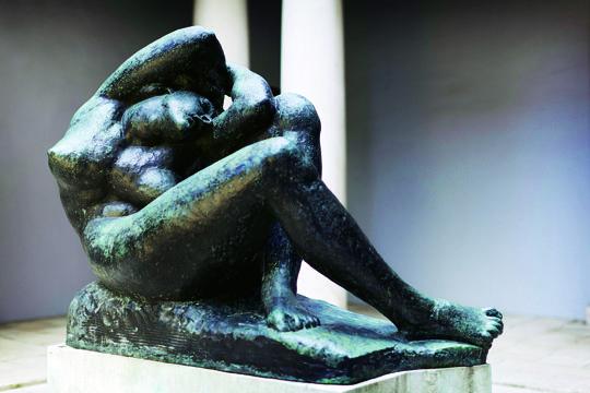 Ivan Mestrovic im Rodin Museum/Paris