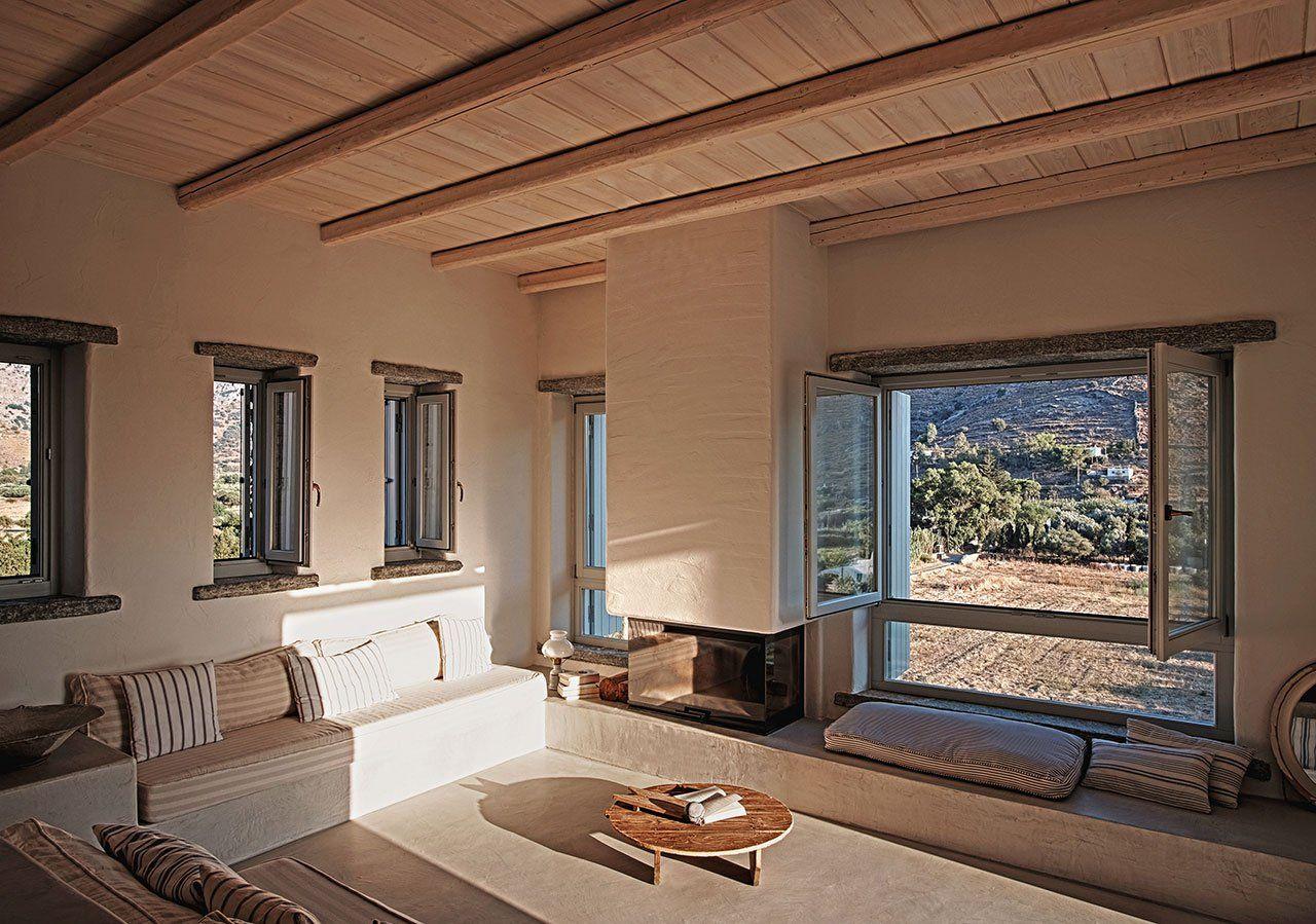 Cycladic Island Dreaming at Rocksplit Villa by