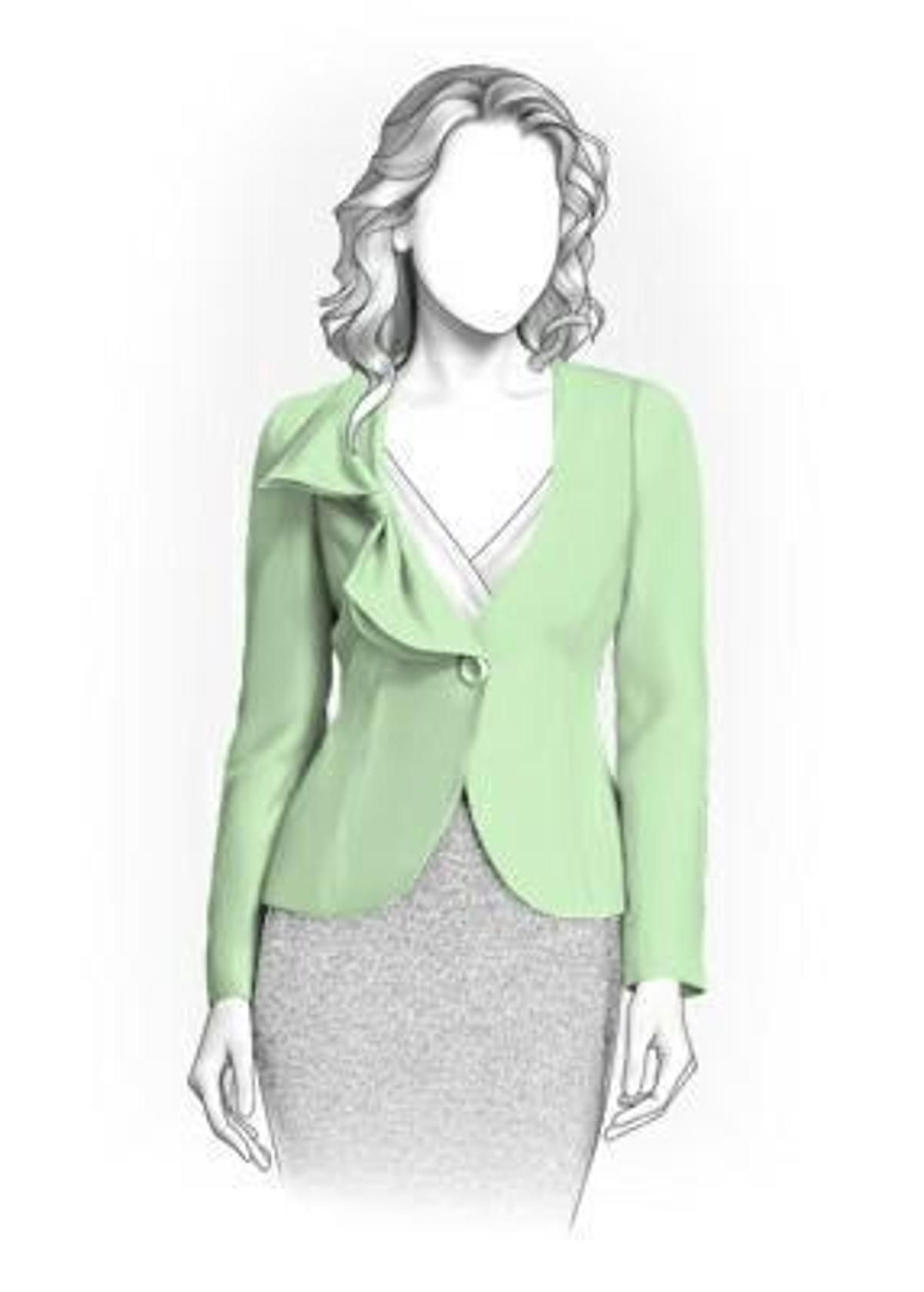 Jacket Sewing Pattern 4082 | fashion designs | Pinterest | Chaquetas