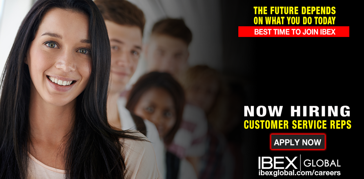 customer service job description%0A Attention Job Seekers   This is The Best Time to JOIN IBEX GLOBAL  u     We are  Urgently Looking for Energetic Customer Service Reps