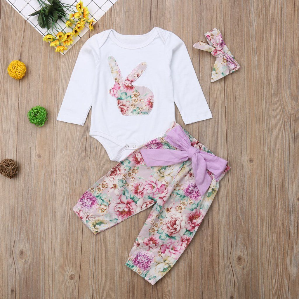 aa71cd3c2 Baby Easter Romper Sets | Easter | Easter, Rompers, Baby