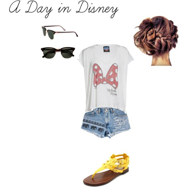 Summer + Disney = Perfection, created by theclairejoy on Polyvore