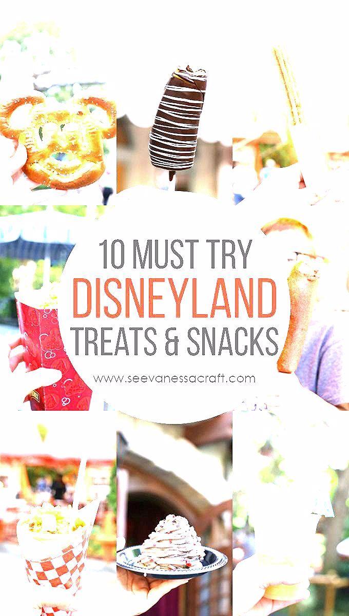 Photo of 10 Must Try Disneyland and Disney California Adventure Snacks and Treats