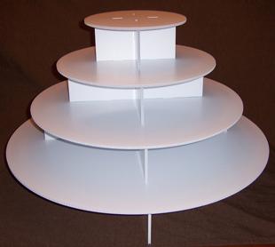 EMPEROR Cupcake Tower $65