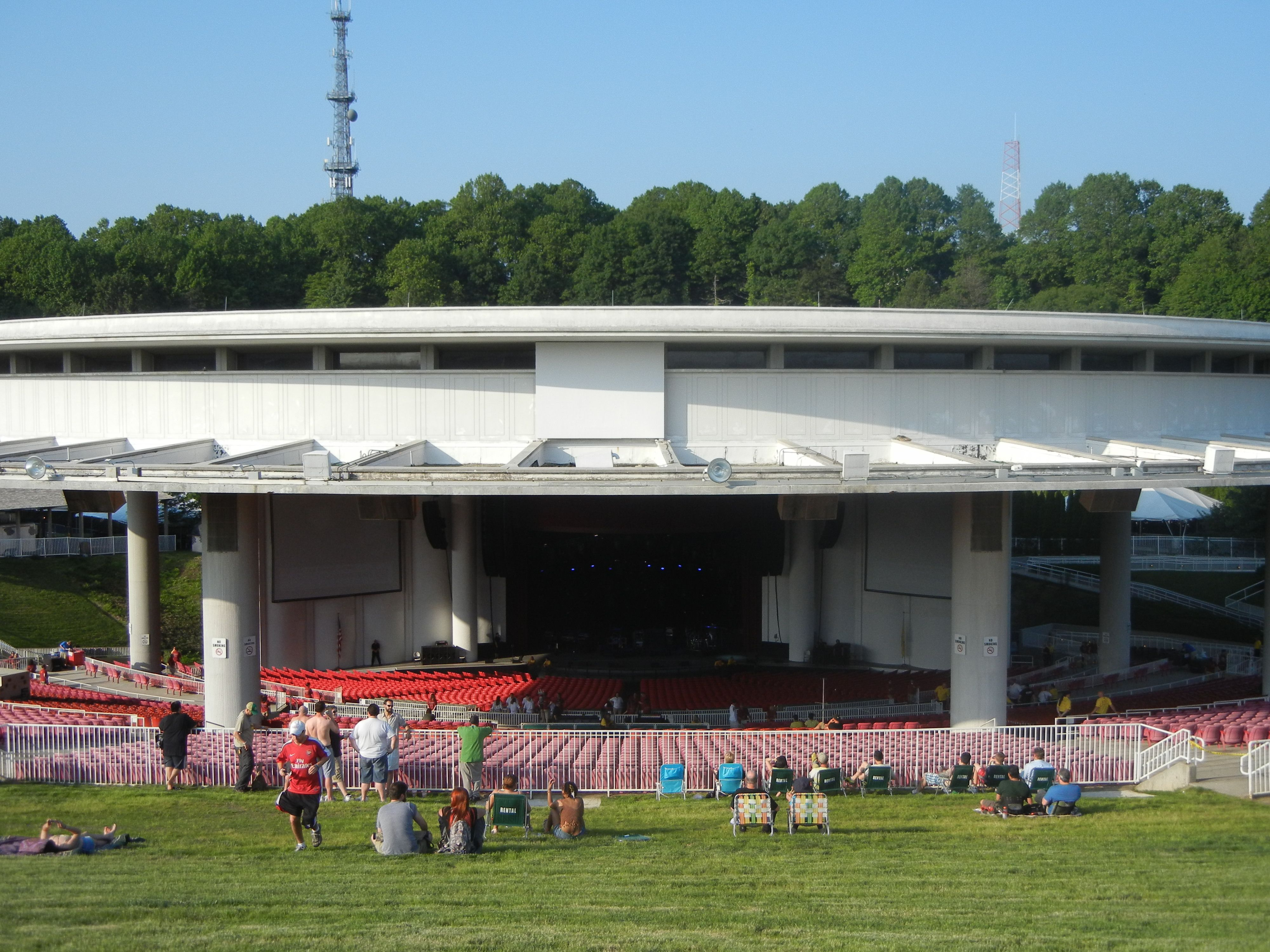 Pnc Bank Arts Center Formerly Garden State Arts Center Opened In