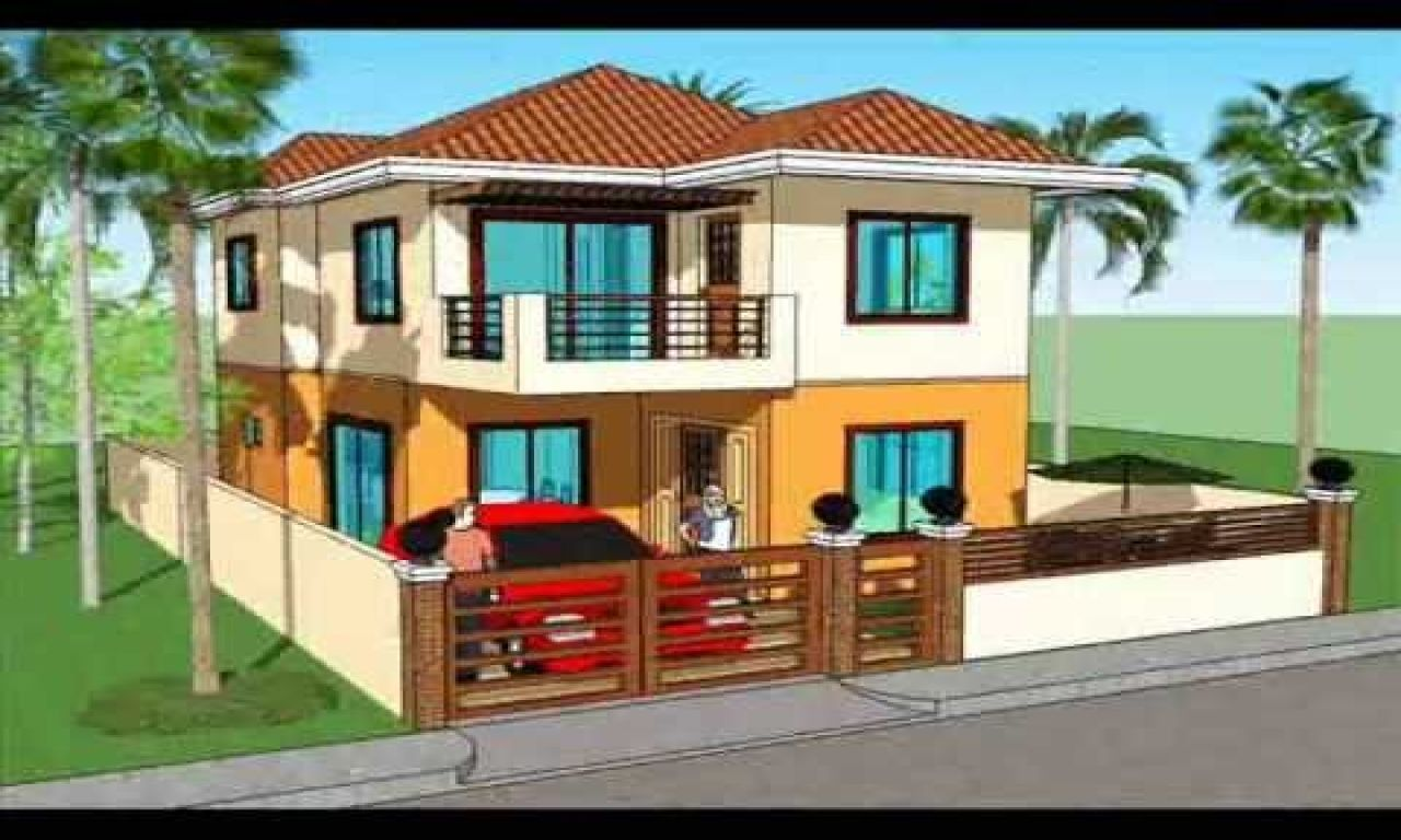 House And Lot With Floor Plans In The Philippines 2 Storey House