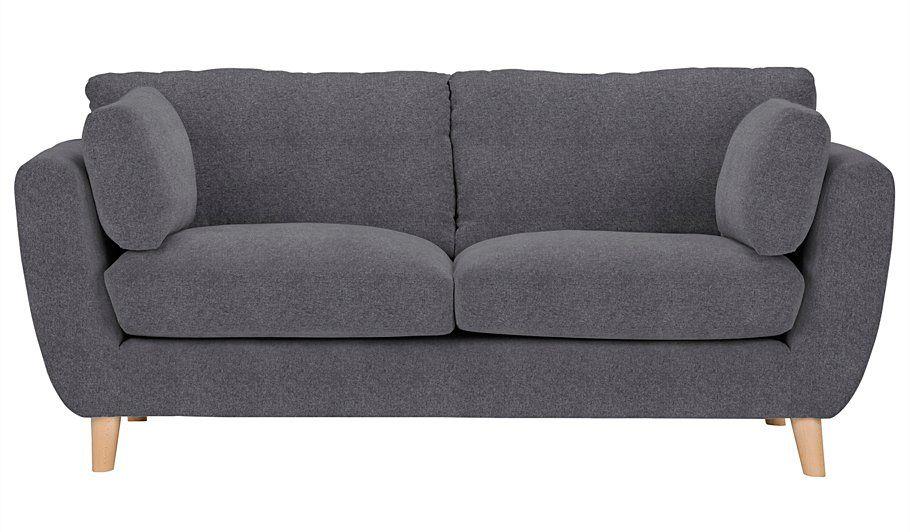 George Home Glynn Medium Sofa In Woollen Blend, Read Reviews And Buy Online  At ASDA
