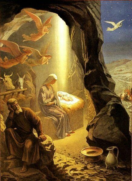 El 60 A Beln On Christmas Angel Pinterest Christ Nativity