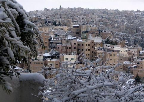 Blizzards and Business in Jordan