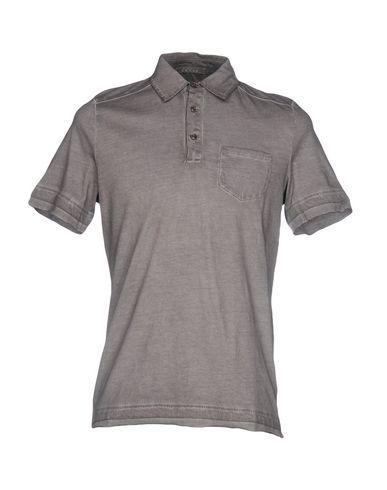 ANDREA FENZI Men's Polo shirt Grey 44 suit