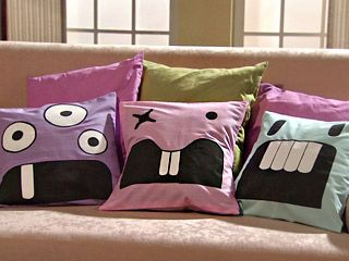 Manualidades y artesan as cojines infantiles almohadas - Cojines infantiles originales ...