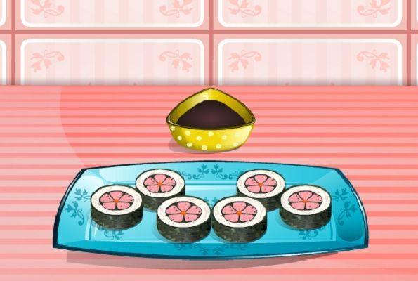 لعبة طبخ لفات السوشي العاب بنات كوم