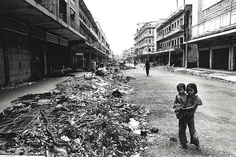 Phnom Penh just after the overthrow of the Khmer Rouge