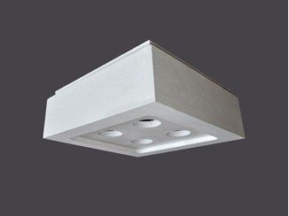 Plafoniere Soffitto Industrial : Plafoniere led in cartongesso soffitto strip