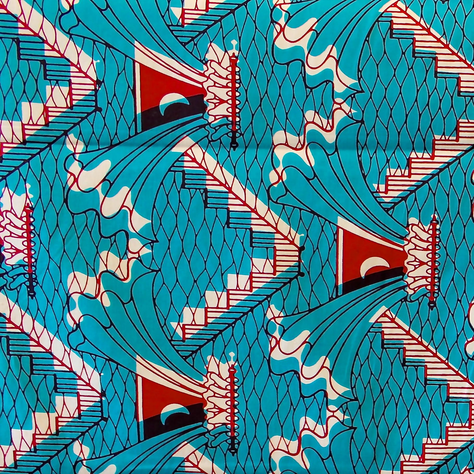 tissu africain bruxelles