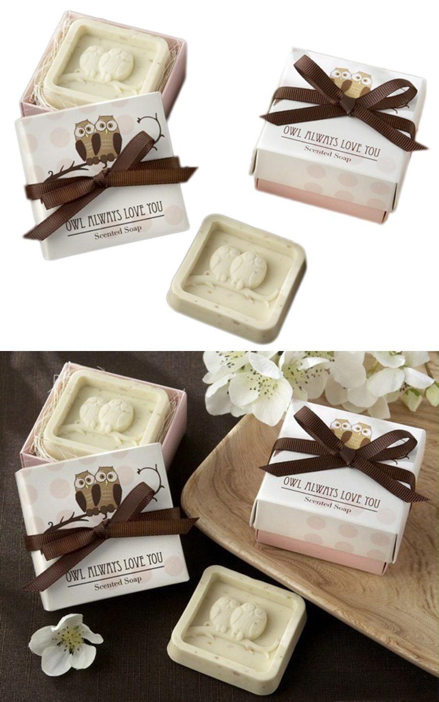 Handmade Owl Design Bath Soap Wedding Valentine Party Love Gift Owl ...