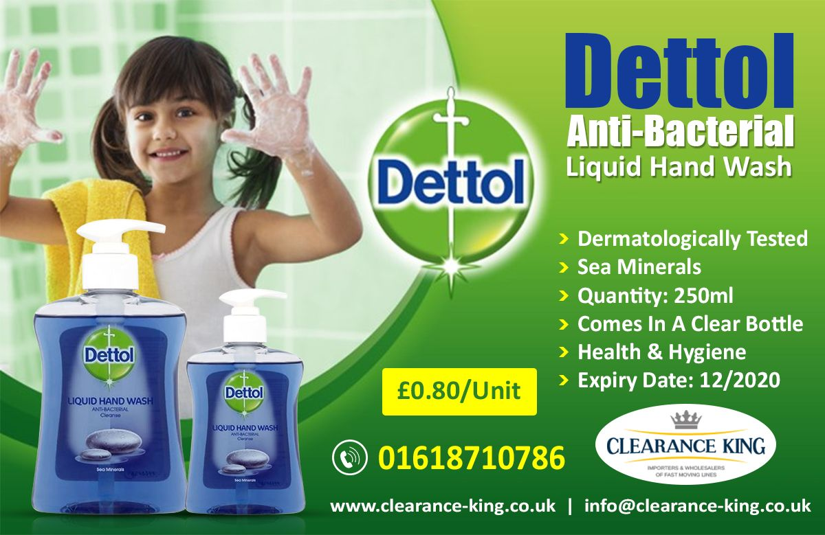 Dettol Anti Bacterial Liquid Hand Wash Dermatologically Tested