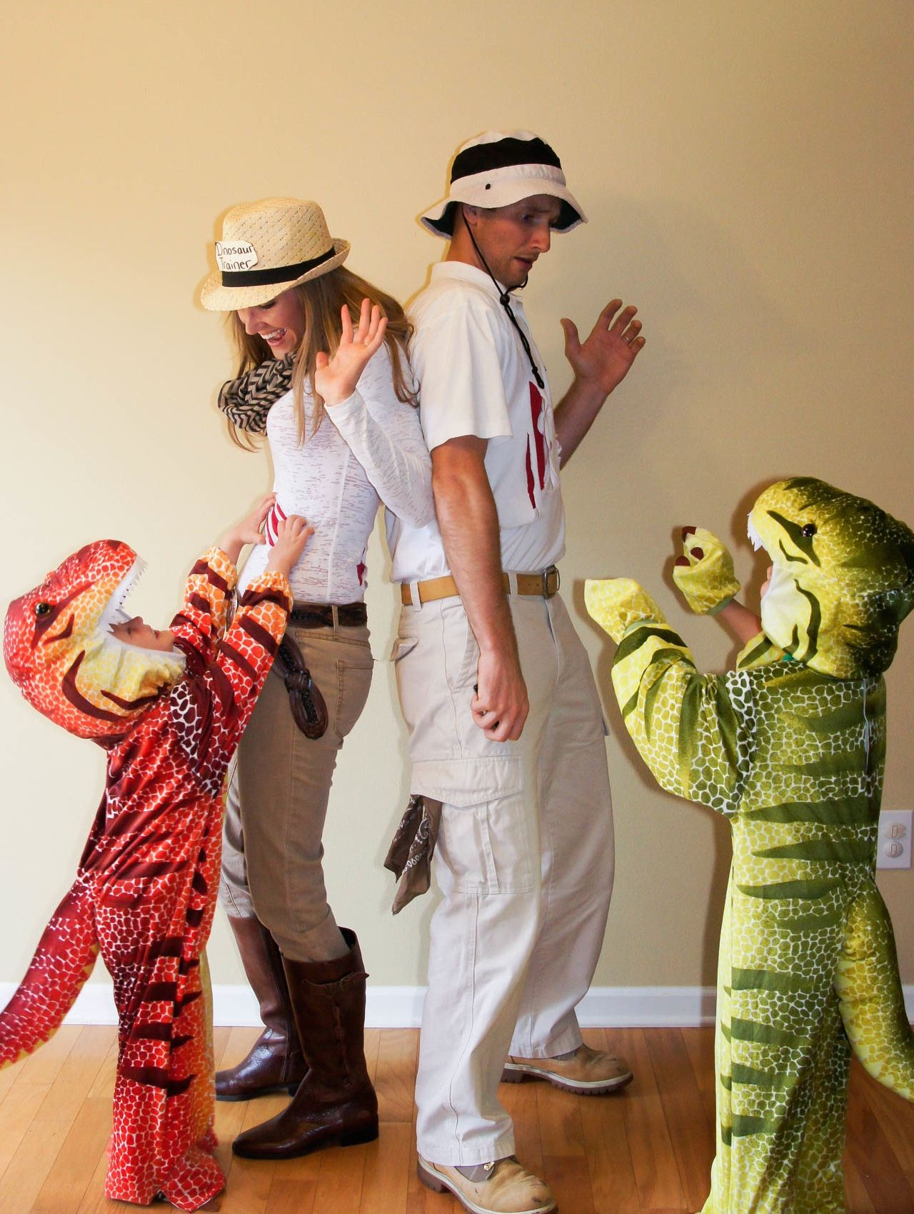 7f8b63317 Dinosaurs and Dinosaur Trainers. Family Costume!