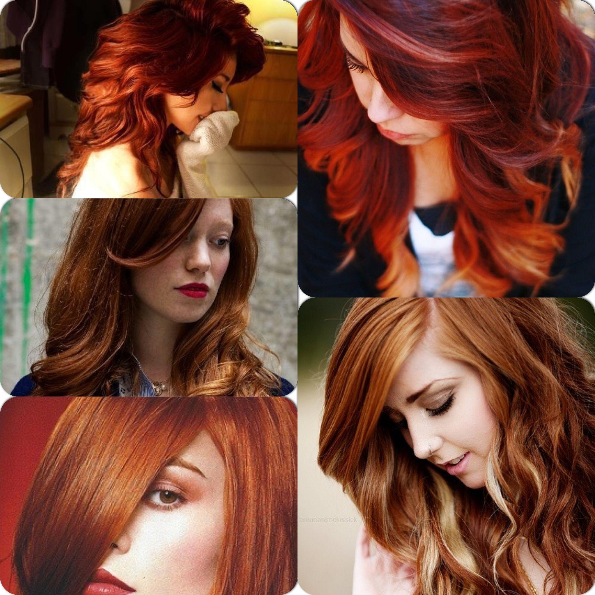 Auburn Hair With Blonde Highlights Inspirationttom Right Corner