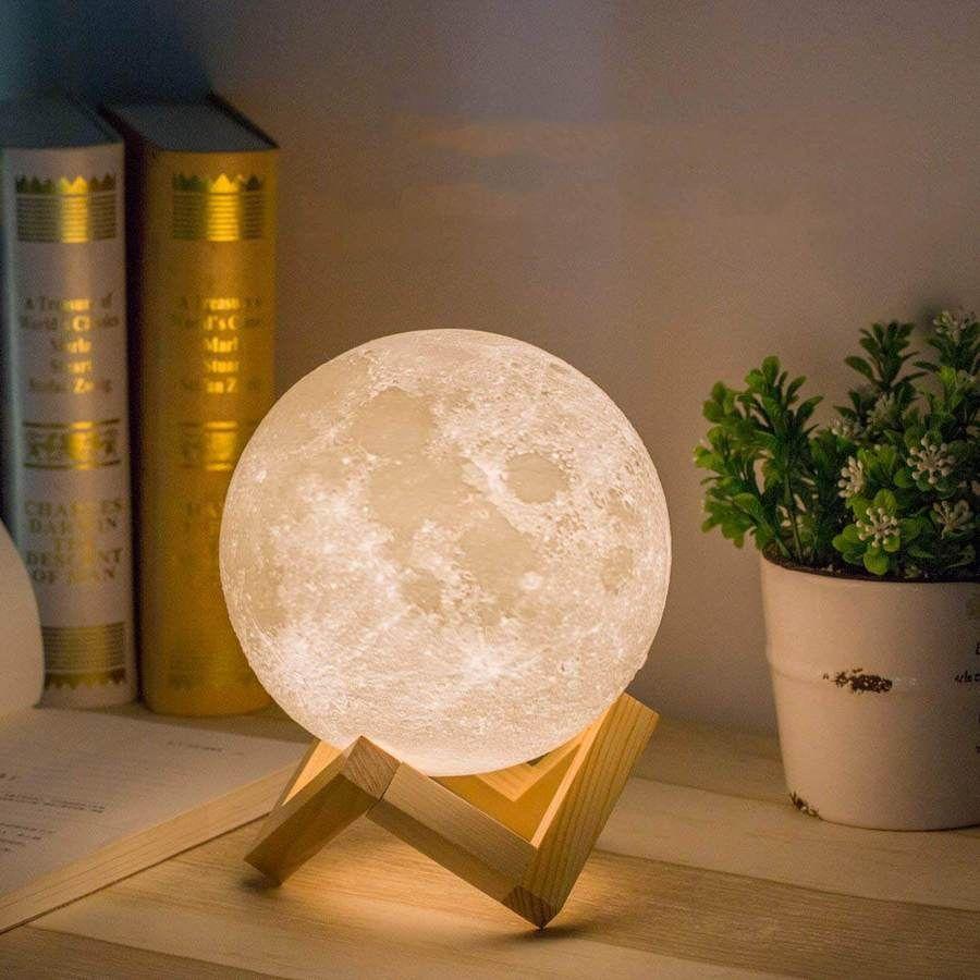 3d Luna Moon Lamp Moon Light Lamp Moon Nightlight Bedroom Lighting Design