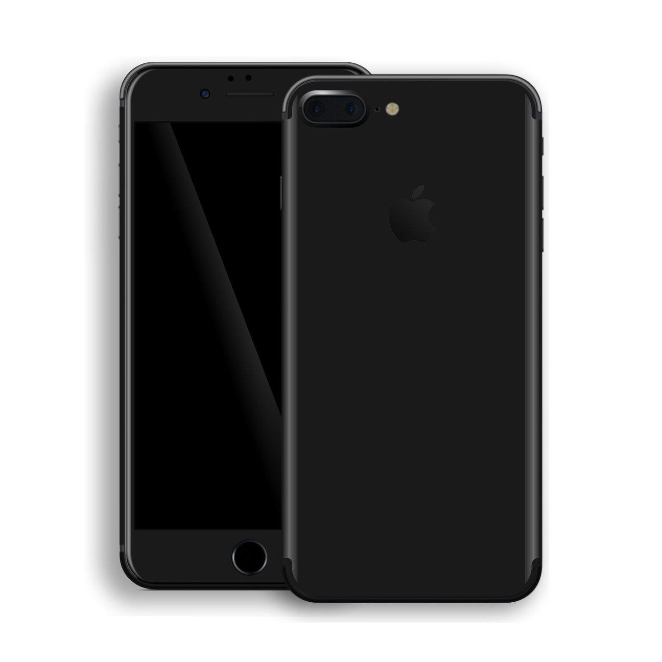 Iphone 8 Plus Black Matt Skin Iphone Iphone 8 Plus Iphone 7 Plus
