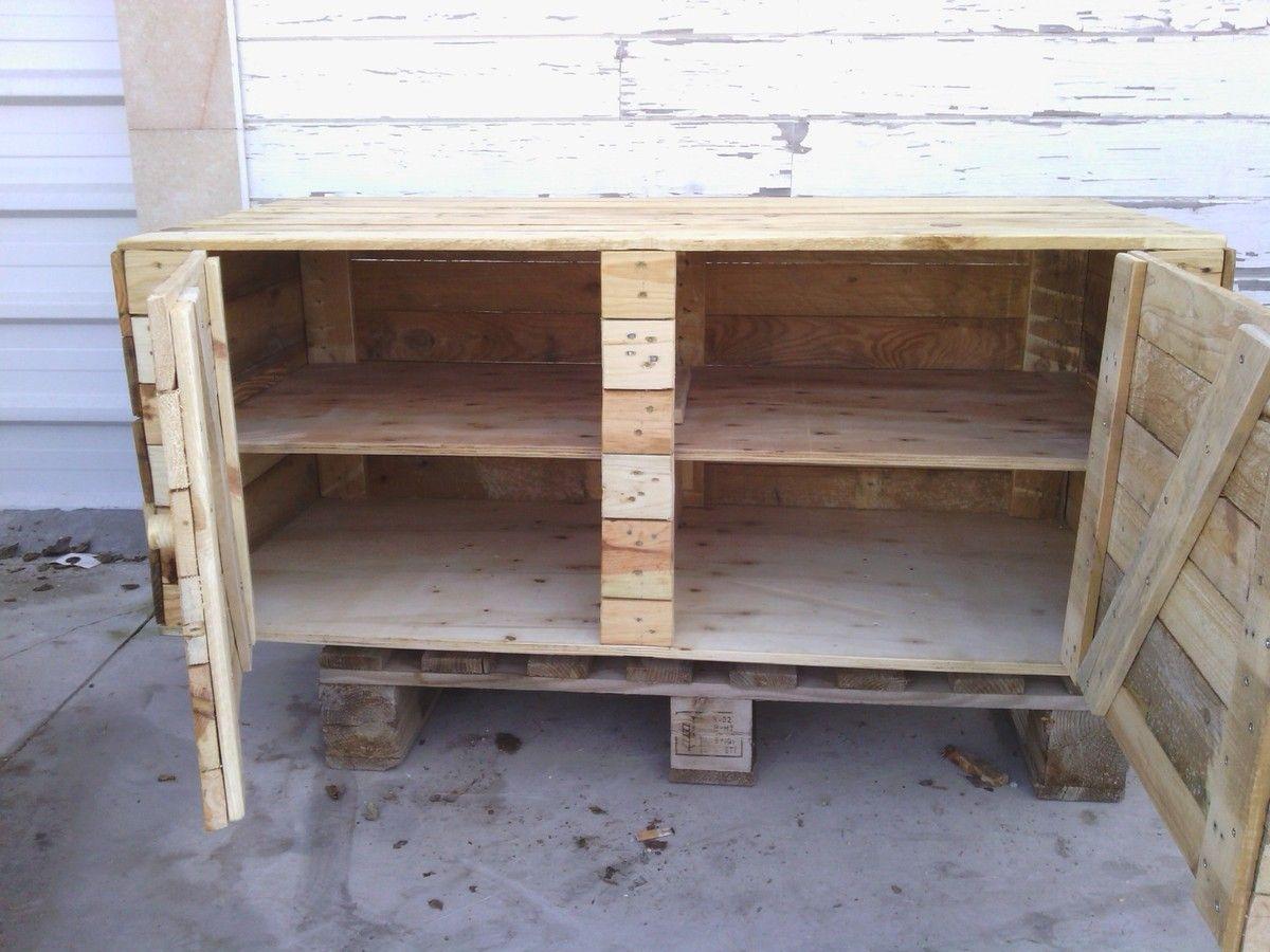 Baul zapatero palets madera reciclado diy madera reciclada madera y palets de madera - Baul zapatero ...