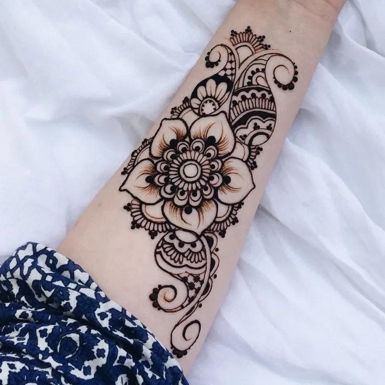 55 Trendy Tattoo Arm Henna Art Designs Feryhan Com Hennaart Hennaartideas Hennaartdesign Henna Tattoo Designs Henna Art Designs Henna Designs Arm