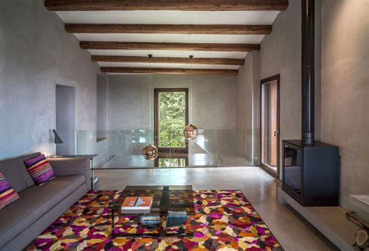 Maison ancienne rénovée avec vue imprenable en Catalogne | Maisons ...