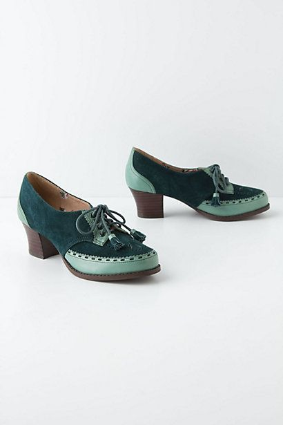 Miss L Fire Tassel Tie Oxfords via @anthropologie