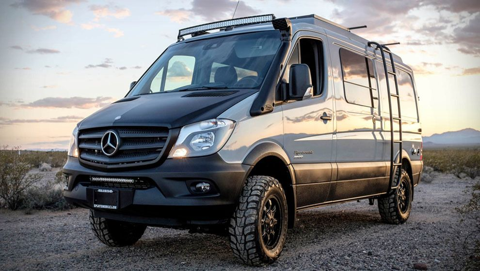 mercedes sportsmobile sprinter 4x4 autocaravanas pinterest fourgon camping car et voiture. Black Bedroom Furniture Sets. Home Design Ideas