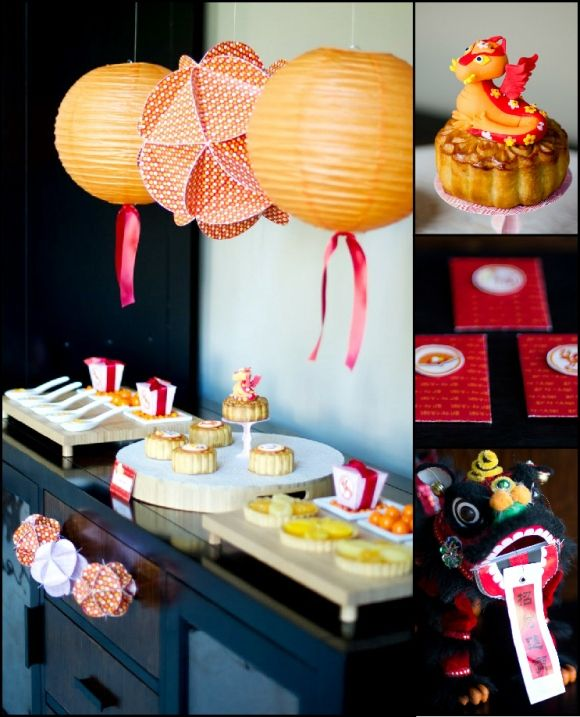 A Chinese Lunar New Year Party | Chinese new year party ...