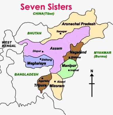 The 7 Sisters Of India The Relatively Unexplored Indian States