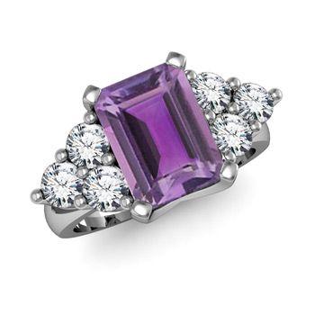 Amethyst ring #jewelry