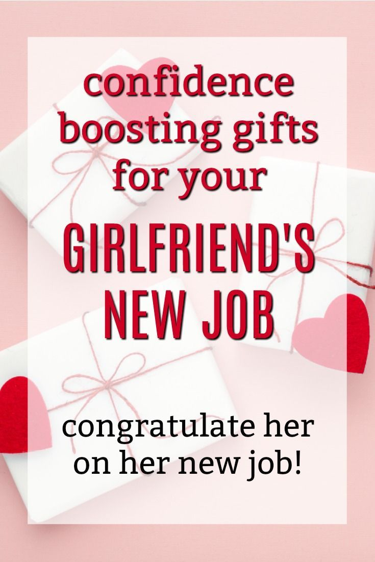 Top New Job Gift Ideas for Your Girlfriend | New job gift ...