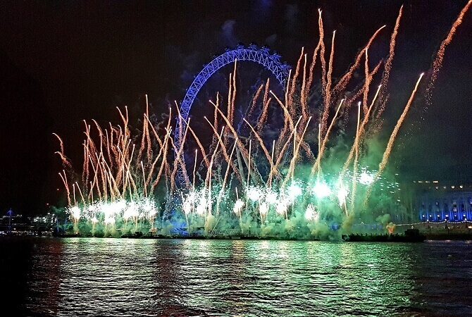 New Year's Eve River Cruise In London With Fireworks