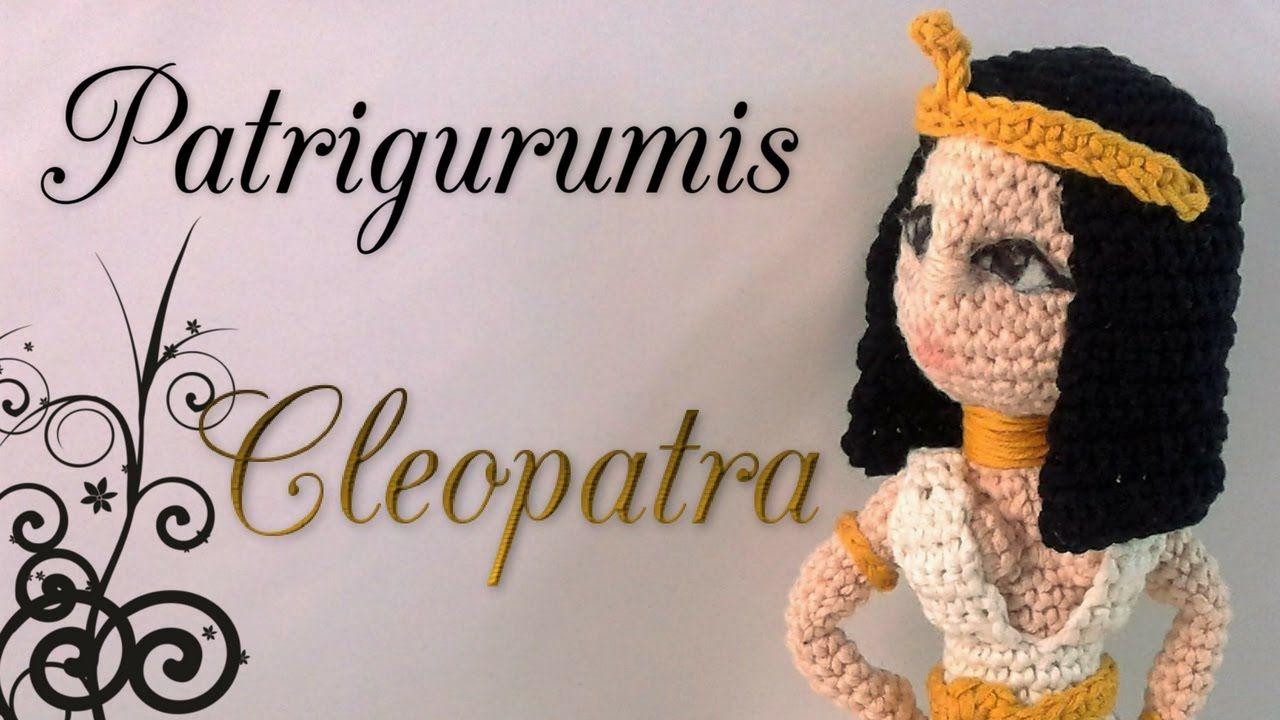 Amigurumi Crochet Personajes : Diy cleopatra amigurumi en ganchillo crochet personajes