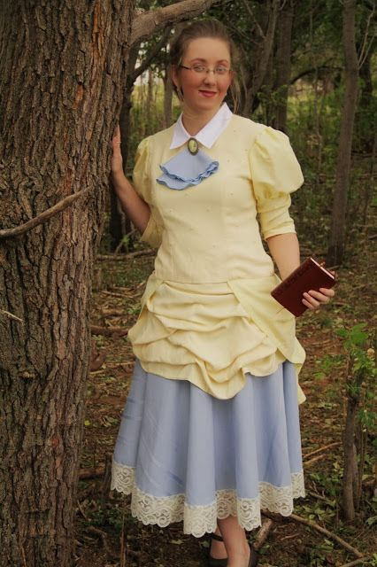 Jane Porter Costume from a refashion | Not strictly accurate, but wonderful all the same <3