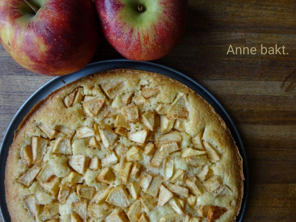 Platte appelcake