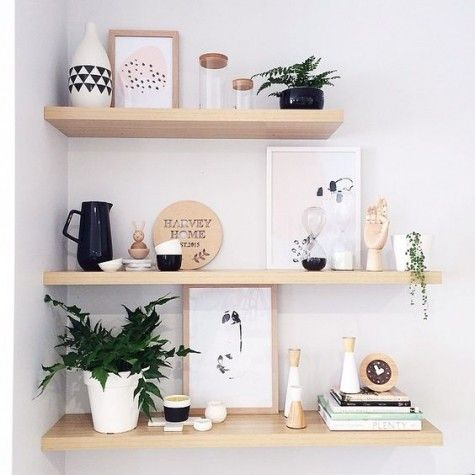 31 Floating Shelves Ideas For Your Home #floatingshelves