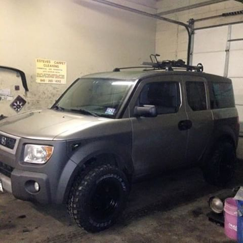 image result for lifted off road honda element honda