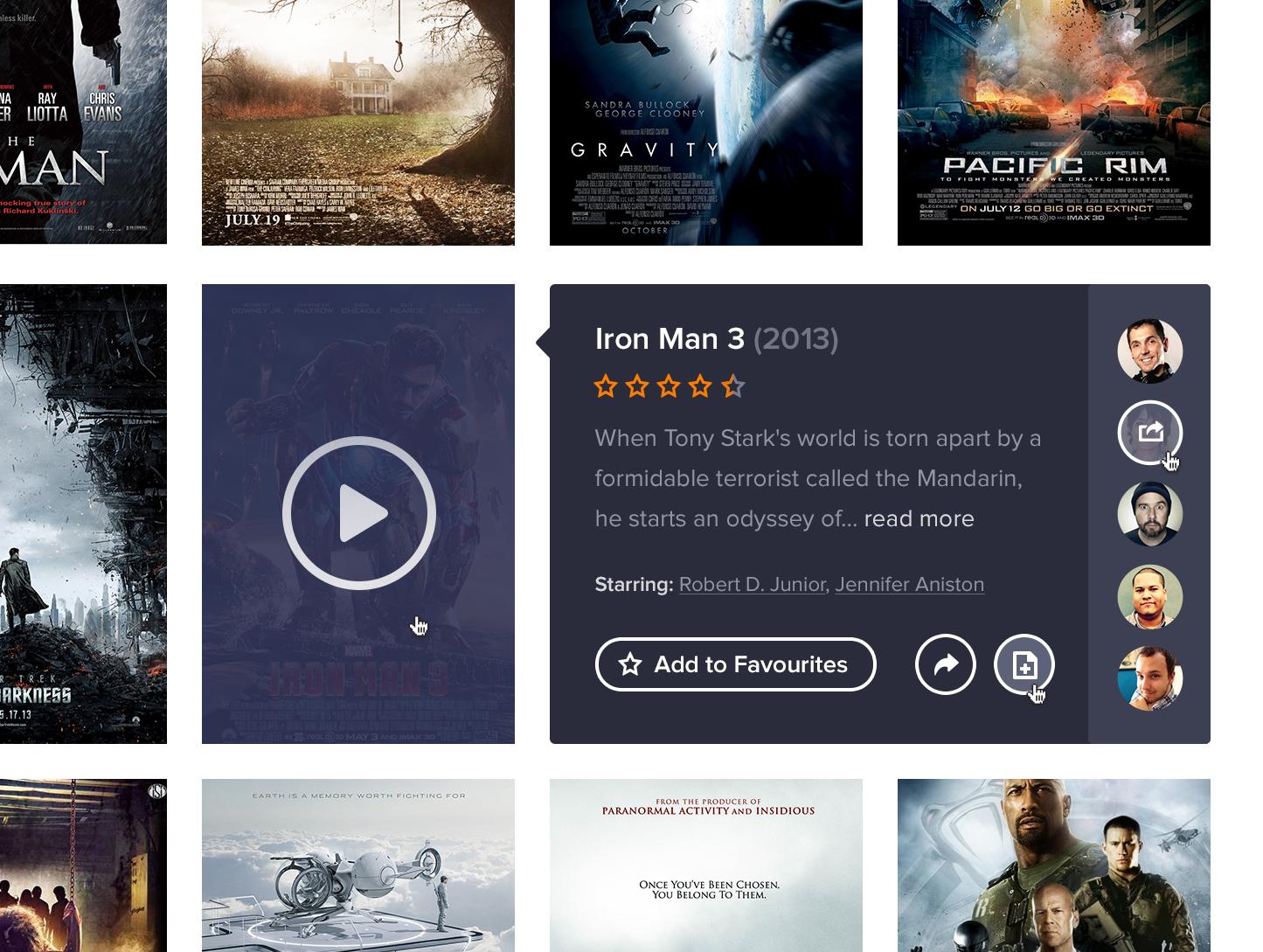 Dribbble Movie App Large Png By Aaron Sananes Movie App Movies App