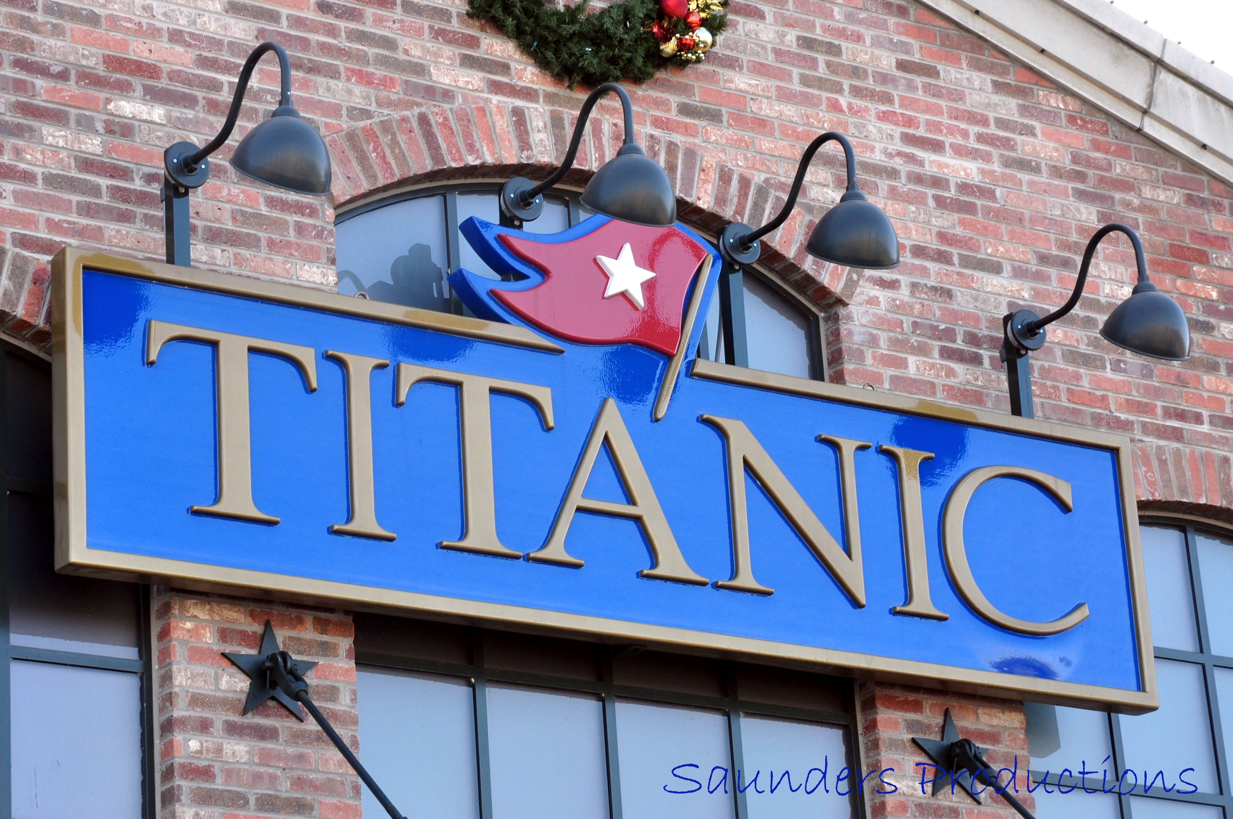 The Titanic Museum in Pigeon Forge - This is a wonderful attraction ...