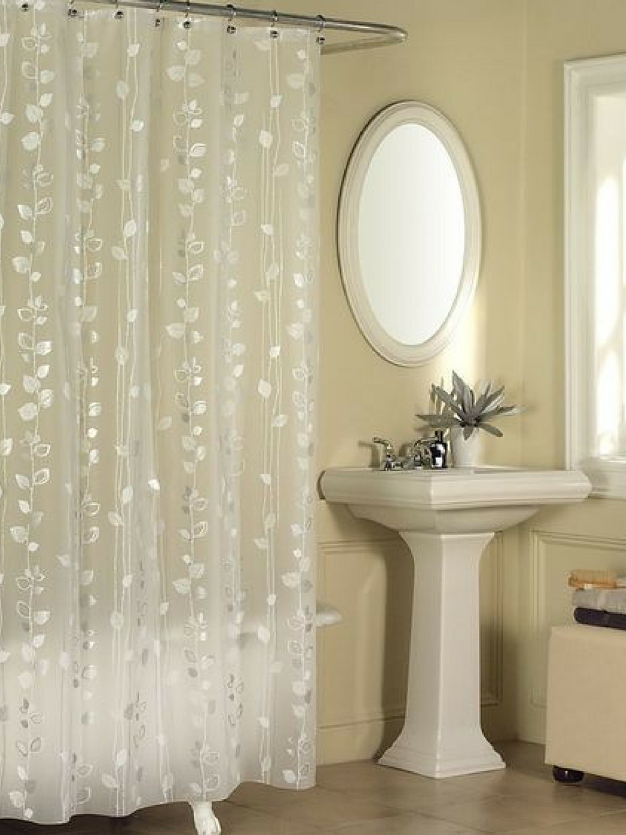 Beautiful I Love This Shimmery And Translucent Shower Curtain For