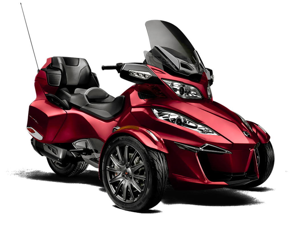Spyder rt powerful fuel efficient motorcycle can am spyder us